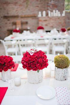 #winterwedding idea  - photo by Rensche Mari - http://ruffledblog.com/johannesburg-garden-wedding/