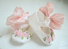 Mary Jane Shoes Newborn Baby and Toddler Shoes KATIA with