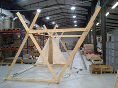Frame viking tent