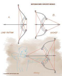 Reverse bow concept design by Grafight.deviantart.com on @deviantART