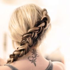 Learn how to create the sideways inside out French Braid Katniss wore in The Hunger Games.