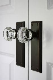 Replace the closet hardware for a cheap and effective change.