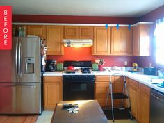 Before U0026 After: The $800 Sell This House Kitchen Makeover