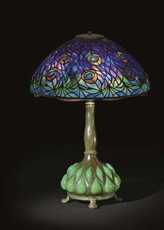 Peacock  Louis Comfort Tiffany, 1905  Christie's