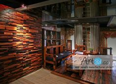wooden interior wall google search