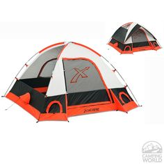 Torino 3 - 3 Person Dome Tent - Modern Marketing Concepts XTS300-A7 - Family Tents - Camping World