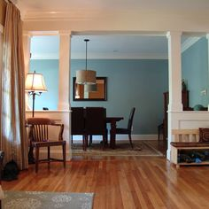 Dining Room Half Wall Design, Pictures, Remodel, Decor and Ideas