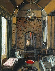 Julian La Trobe The Octogon Sitting Room 1990
