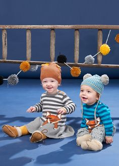fox knits for babies, Journey North the new Aw16 collection from The Bonniemob