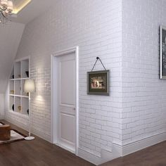 Embossed 3D Brick Wall Paper Modern Vintage Brick Stone Paper Wallpaper Roll For living room Bedroom Wall covering Home Decor