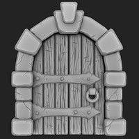 ArtStation - Link Fanart-New Renders, Fabricio Batista Art Test, Game Props, Heroes Of The Storm, Viking Art, 3d Background, Blender 3d, 3d Artist, Zbrush, Landscape Art