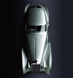 1937 Delage D8 120S Pourtout Aero Coupe.