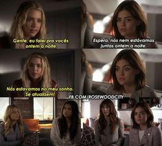 Preety Little Liars, Pll Memes, Tv Show Music, I Have A Secret, Brenda Song, Bad Mood, Series Movies, Gossip Girl, Funny Moments