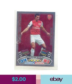 Soccer Cards 2011/12 Topps Star Player Arsenal-Robin Van Persie #ebay #Lifestyle