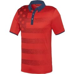 adidas™ Men\u0027s climacool® Flag Polo Shirt