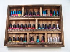 Nail Polish Organizer, Nail Polish Display Case http://shop.wigsbuy.com/Custom-Human-Hair-Wigs-101938/
