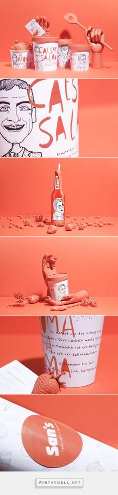 """Exzentrisches, junges Design mit knallender """"Irgendwozwischendrin""""-Farbe. Nice. → Mehr #Design #Grafikdesign #Verpackung #Packaging #Produktdesign #Ideen & #Inspiration auf pins.dermichael.net ▶▶"""