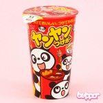 Meiji Panda Yan Yan Biscuit Sticks with sprinkles