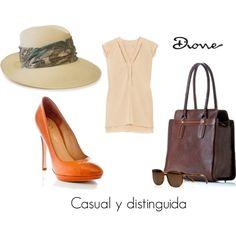 """Casual y distinguida"" by dionemoda on Polyvore"
