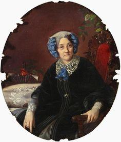 Княгиня Изабелла Гагарина, конец 1850-х