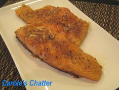 Carole's Chatter: Cajun Spiced Salmon Fillet – Reprised Seafood Dinner, Fish And Seafood, Cajun Recipes, Salmon Recipes, Cajun Spice Mix, Food Plus, Oven Dishes, Salmon Fillets, Spices