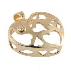 Yellow Gold & Diamond Heart Pendant, handmade at Cameron Jewellery by Sam Drummond Diamond Heart, Pendants, Jewellery, Yellow, Winter, Gold, Handmade, Image, Winter Time