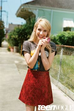 Emma Roberts Interview - Teen Vogue November 2015 | Teen Vogue
