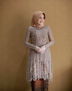 Kebaya Modern Hijab, Kebaya Hijab, Kebaya Dress, Kebaya Muslim, Model Kebaya Brokat Modern, Brides Mom Dress, Engagement Dresses, Wedding Dresses, Casual Hijab Outfit