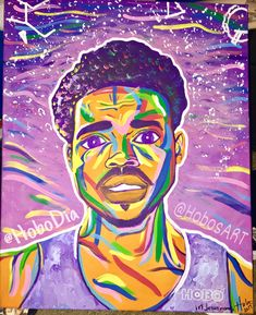 Chance the rapper painting & wall art available by Chance The Rapper, Names Of Jesus, Black Art, The Dreamers, Paintings, Wall Art, Handmade Gifts, Artist, Prints