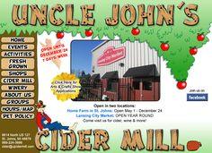 Uncle Johns~ Fun stuff for kids~ frest apples~ wine tasting.. :) YuM