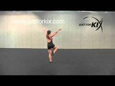 Lyrical Combo - Great Dance Tutorial and Demonstration from Just For Kix - YouTube