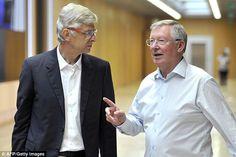 Arsenal right to stick with Arsene Wenger says former Man United boss Sir Alex Ferguson. Football Icon, Best Football Team, Kenya News, Arsene Wenger, Sir Alex Ferguson, England Football, Man United, Manchester United, Arsenal