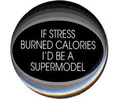 stress and calories