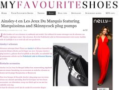 Marquissima Plug Pump shoes by Les Jeux du Marquis & @ainsleytshoes on http://www.myfavouriteshoes.nl/blog/1/2688-ainsley-t-en-les-jeux-du-marquis-featuring-marquissima-and-skinnycock-plug-pumps.html
