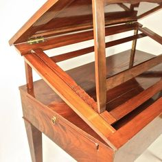 Late Century Mahogany Veneered Architect's Table, workshop of J. Console Table, A Table, Architect Table, Tall Stools, Old Desks, Table Furniture, Antique Furniture, Living Room Tv, Modern Desk