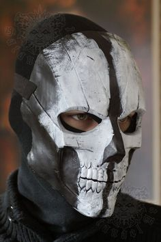 Mask - Fiberglass mask-Call of Duty Ghosts 3 by Psychopat6666