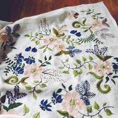 Yumiko Higuchi Embroidery (via Inspirations facebook page)