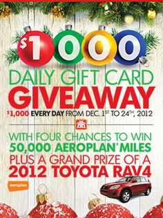 Win Daily Giveaways from Home Hardware