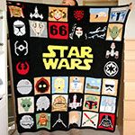 Are you looking for May The Forth Be With You Star Wars Blanket? We have sorted out the best Star Wars gifts in the universe so that you don't need to go to galaxy far far away. Check our top picks now. Star Wars Crochet, Plaid Crochet, Crochet Stars, C2c Crochet, Crochet Hooks, Star Wars Quilt, Amigurumi For Beginners, Crochet Disney, Scrappy Quilts