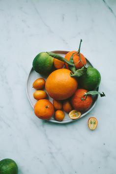 Salad of Cara Cara Oranges, Avocado and Feta - Not Without Salt