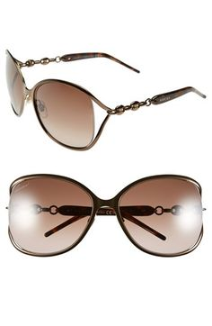 Gucci 60mm Butterfly Sunglasses available at #Nordstrom