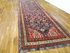 "Caucasian 22' 0"" x 6' 0"" Antique Karabagh at Persian Gallery New York - Antique Decorative Carpets & Period Tapestries"