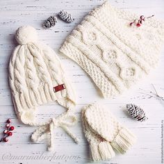 Купить или заказать Детский вязаный комплект шапочка варежки шарф в интернет-магазине на Ярмарке Мастеров. Мягкий уютный теплый детский комплект. Шапочка/варежки/шарф. Итальянская пряжа 100% меринос. ************************************************ Свяжу на заказ.