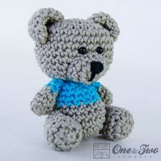 Sam, the Little Teddy Bear - FREE Crochet Pattern