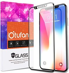 iPhone X Screen Protector, Otufan iPhone X Tempered Glass Screen Protectors Premium Edge-to-Edge 3D Touch Full Coverage Clear HD Tempered Glass Screen Protector for Apple iPhone X  https://topcellulardeals.com/product/iphone-x-screen-protector-otufan-iphone-x-tempered-glass-screen-protectors-premium-edge-to-edge-3d-touch-full-coverage-clear-hd-tempered-glass-screen-protector-for-apple-iphone-x/  [COMPATIBLE MODEL]: Designed for Apple iPhone X. Precise cut and design, perfect