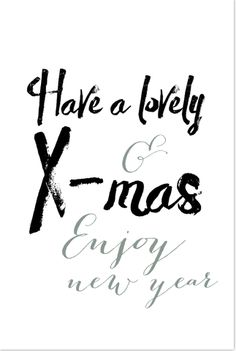 Witte kerstkaart met teksten in een hip brush lettertype. Gratis verzending in Nederland en België. Christmas Wishes, Christmas Greetings, Christmas And New Year, Christmas 2019, Christmas Cards, Picture Quotes, Love Quotes, New Year Greetings, Christmas Paintings