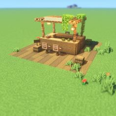Photo shared by Minecraft Builds & Designs on March 2020 taggYou can find Minecraft houses and more on our website. Minecraft World, Cute Minecraft Houses, Minecraft Farm, Minecraft Garden, Minecraft Plans, Amazing Minecraft, Minecraft Construction, Minecraft House Designs, Minecraft Tutorial