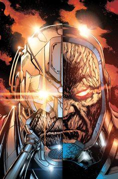 """Dès la semaine prochaine, DC Comics débutera la publication du très attendu """"Darkseid War''. Justice League #40, à venir le mercredi 29 avril pour quatre d"""