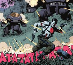 Bloodshot - The Valiant #1 - First Look