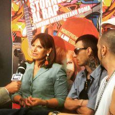Intervista ad Elena Bonelli al Tg1 per il concorso DALLO STORNELLO AL RAP. #Dallostornelloalrap